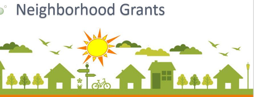 neighborhood grant background