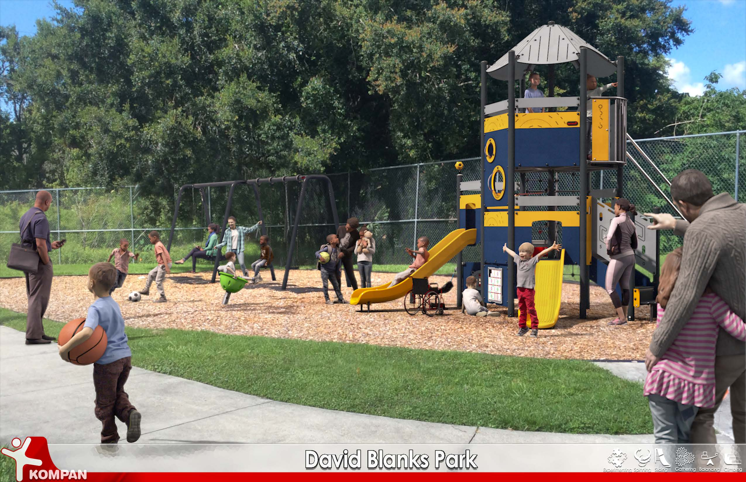 David Blanks Playground Equipment Rendering