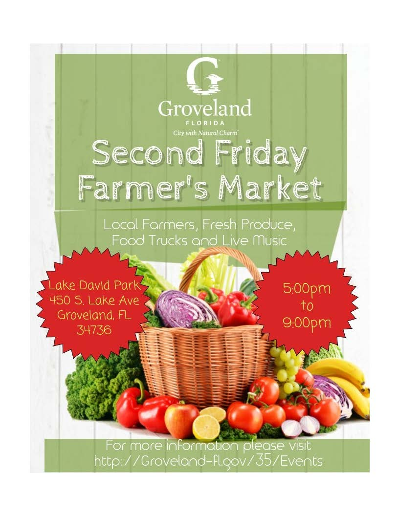 Groveland 2nd Friday Farmers Market